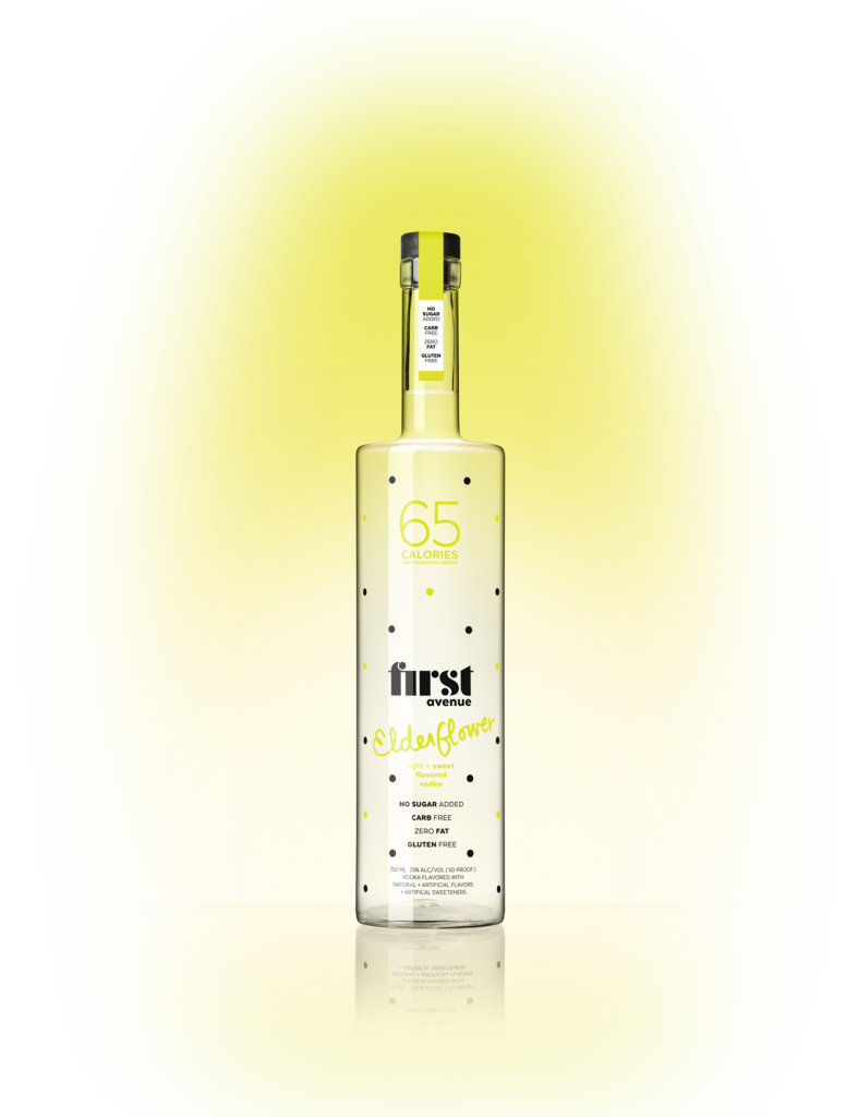 First Avenue Elderflower no sugar added flavored vodka