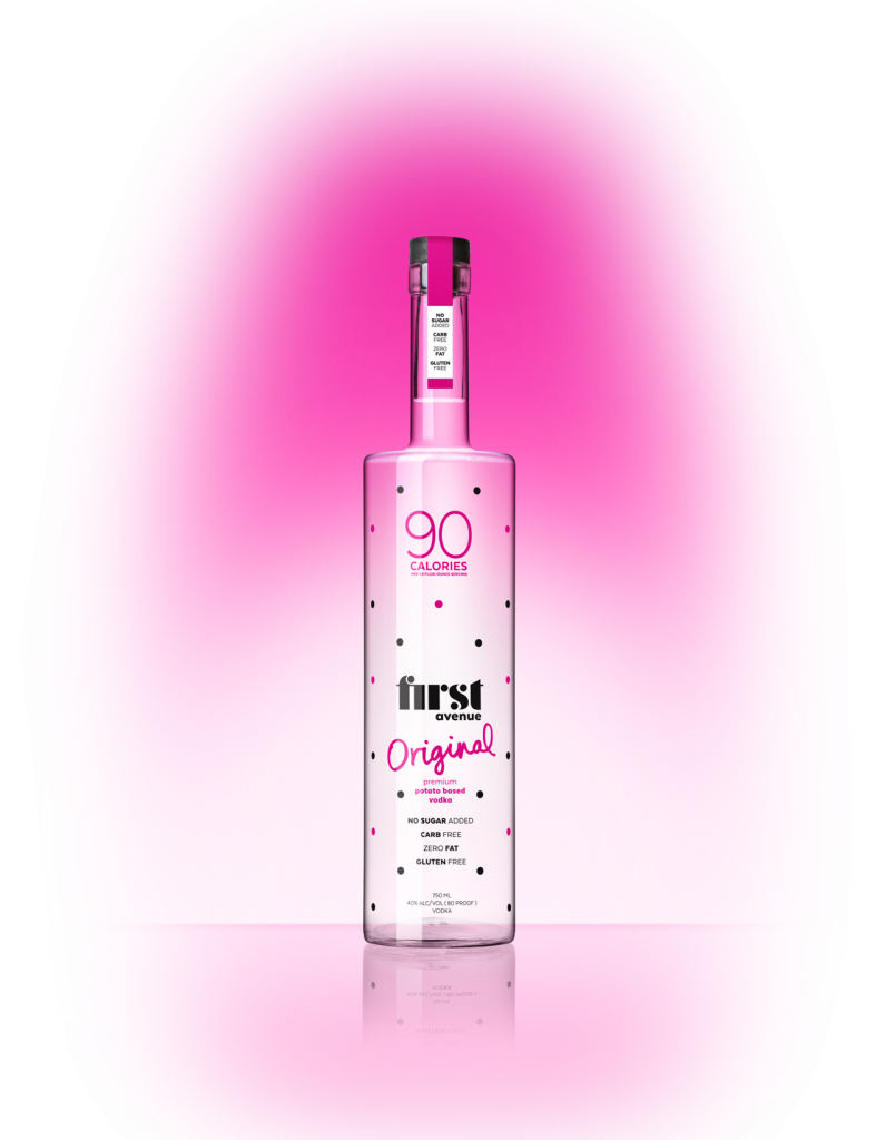 bottle of First Avenue Original Vodka