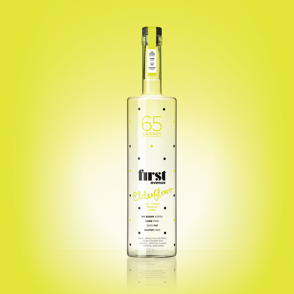 First Avenue Elderflower Vodka